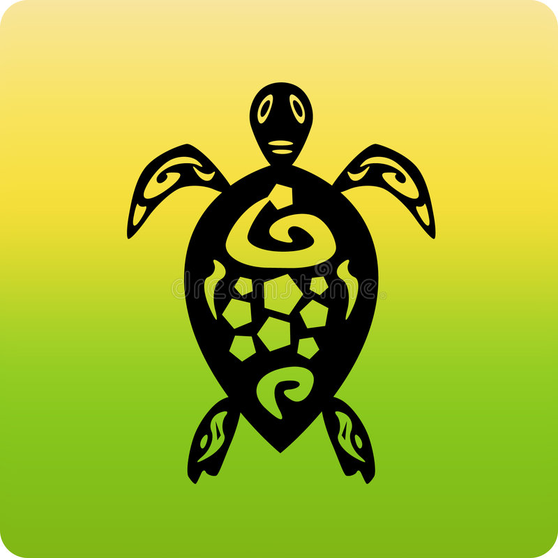 черепаха иконы иллюстрация штока
