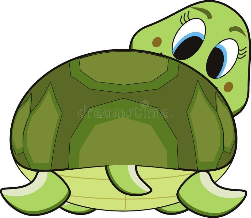черепаха шаржа бесплатная иллюстрация