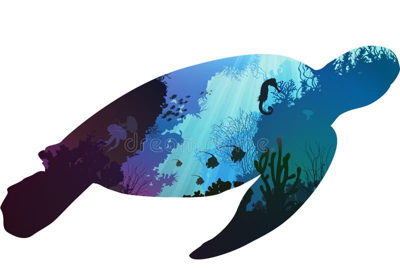 Черепаха иллюстрация штока