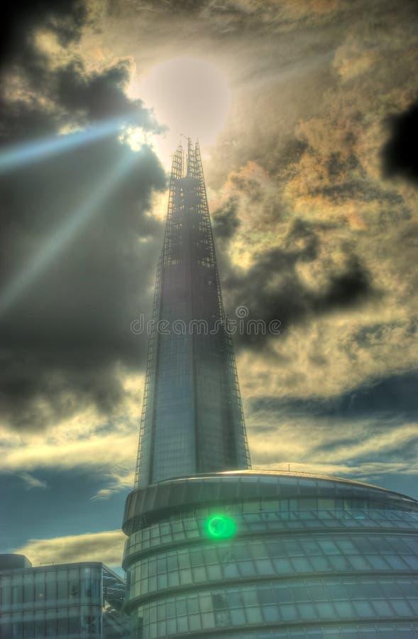 Черепок - Лондон стоковые фото