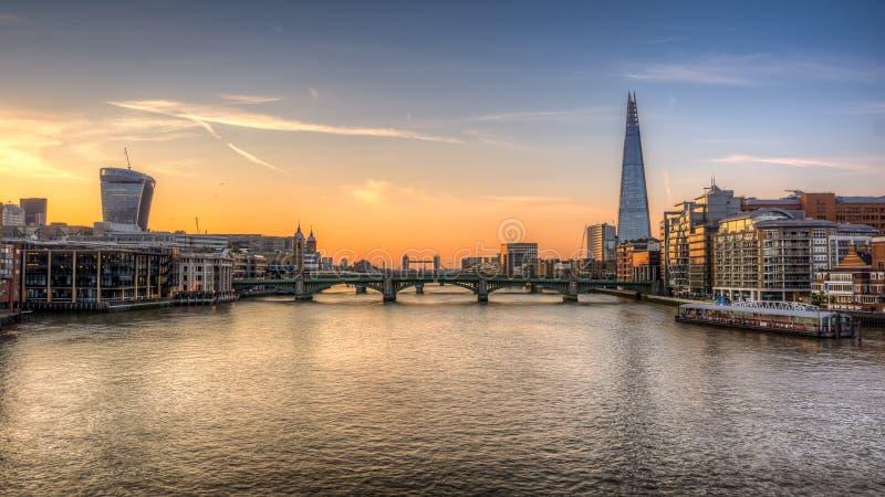 Черепок Лондона стоковая фотография
