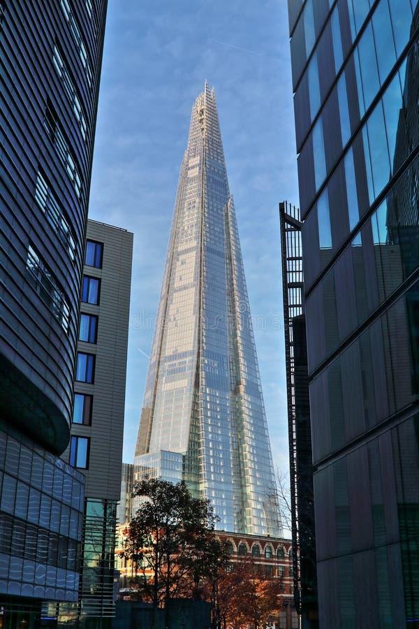 Черепок HDR Лондона стоковая фотография
