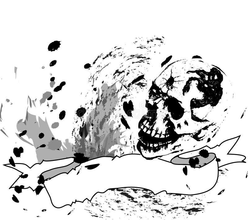 череп знамени бесплатная иллюстрация
