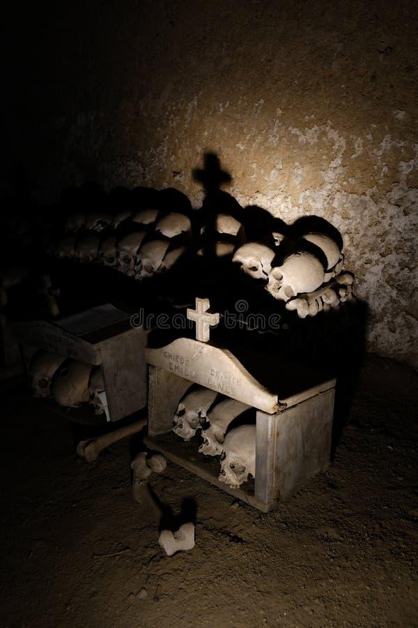 Череп и косточки стоковое изображение
