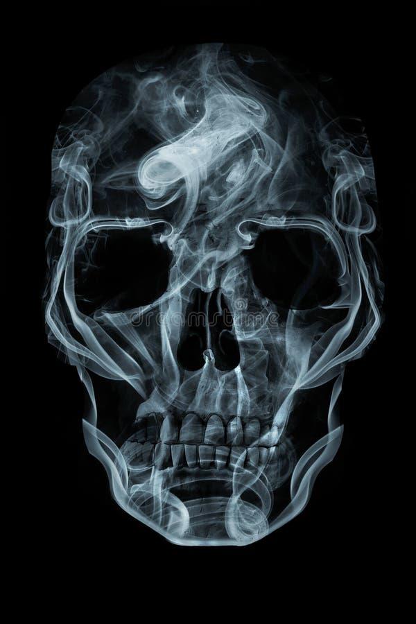 Череп дыма бесплатная иллюстрация