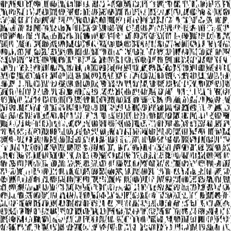 Черная белая картина grunge бесплатная иллюстрация