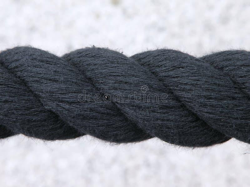 черная веревочка стоковые фото