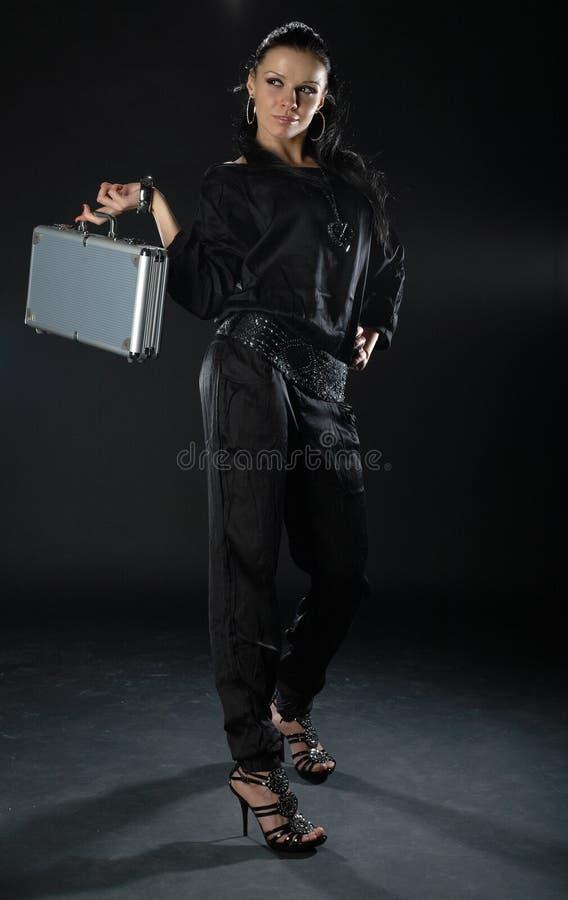 черная девушка сексуальная стоковые фото