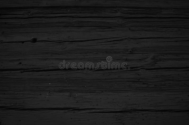 Черная деревянная концепция предпосылки стоковое фото