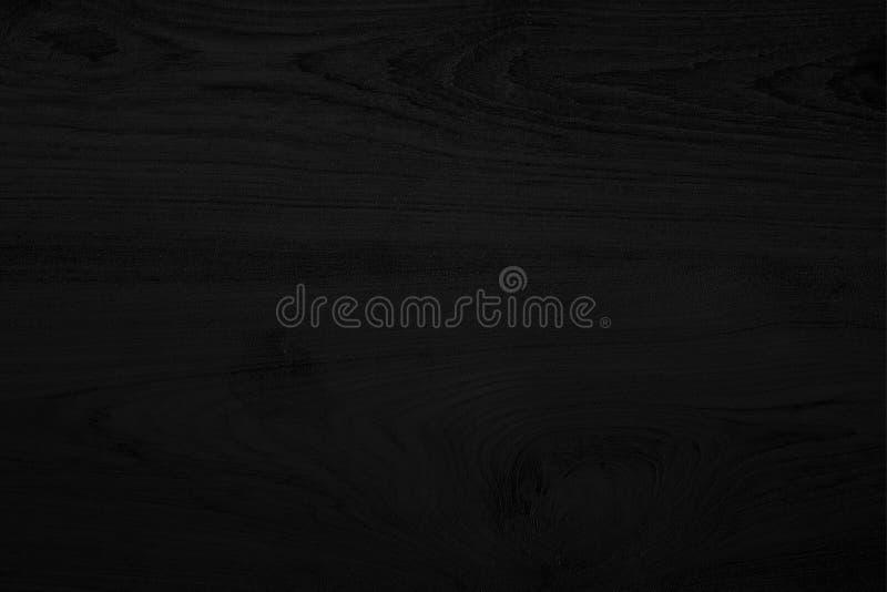 Черная деревянная предпосылка черноты текстуры Пробел для дизайна стоковая фотография