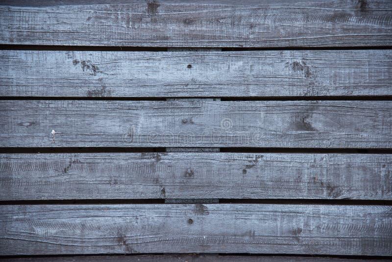 Черная деревянная предпосылка стены стоковое фото rf