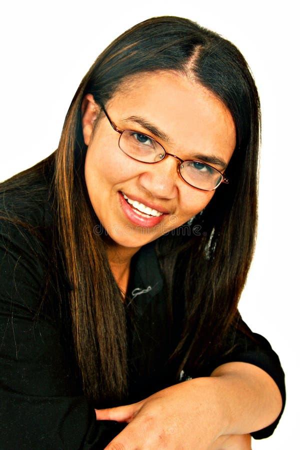 черная женщина портрета стоковые фотографии rf