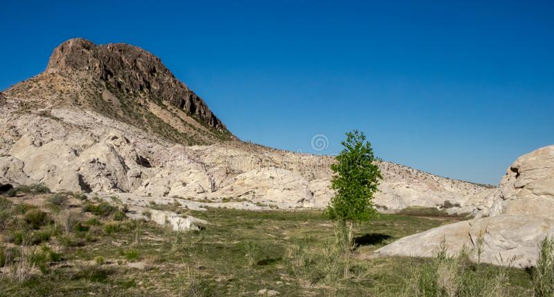 Черная запруда Butte стоковое изображение rf