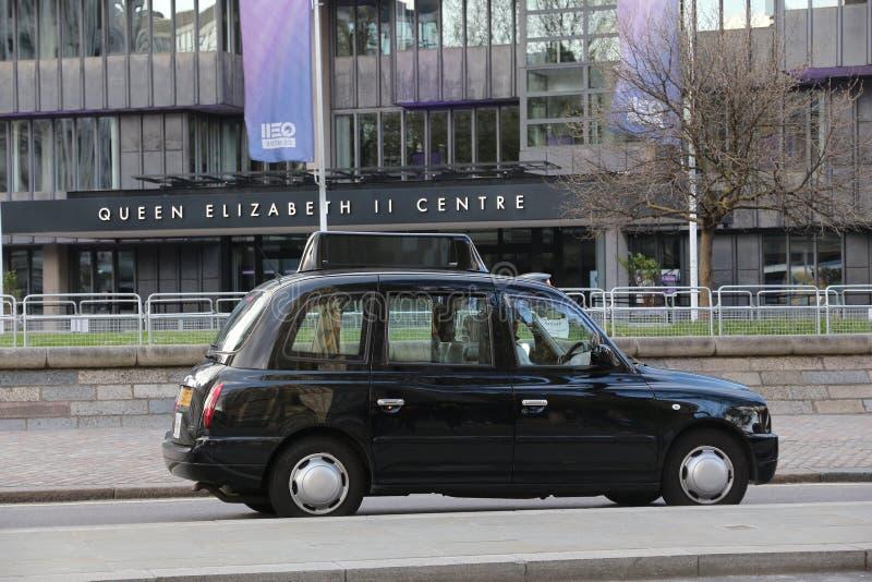 черная кабина london стоковые изображения