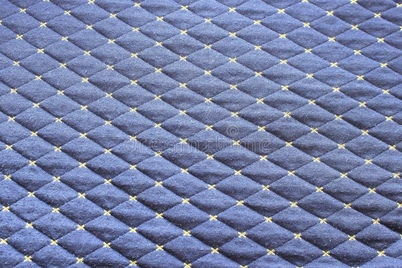 Черная картина ткани Форма Rhomb стоковое изображение rf