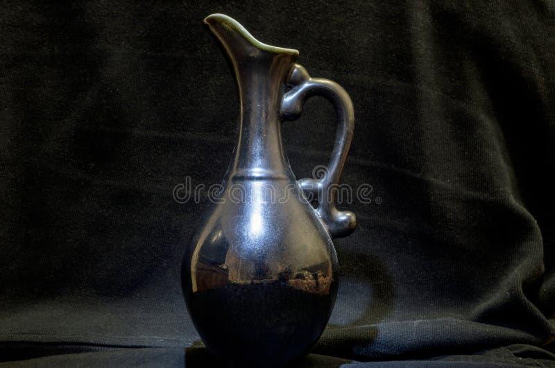 Черная керамика стоковое фото rf