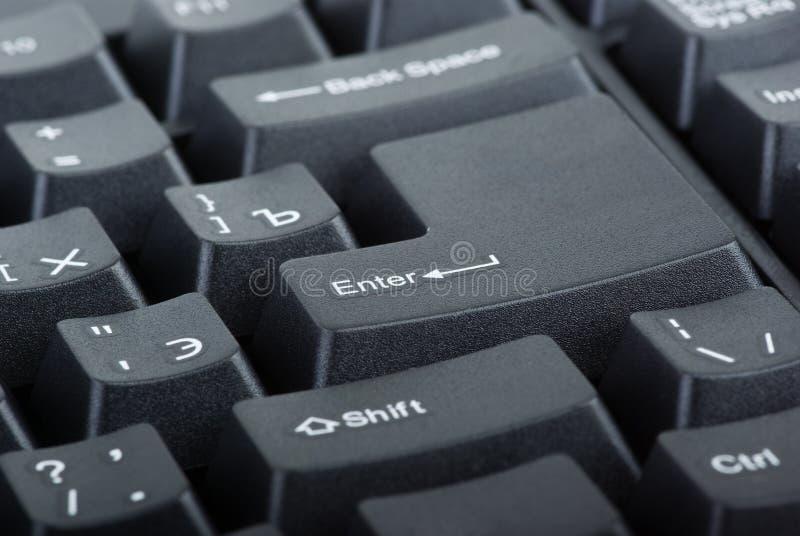 черная клавиатура части компьютера стоковые фотографии rf