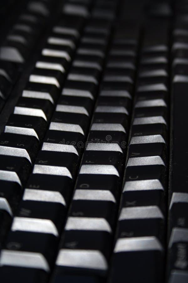 черная клавиатура стоковое фото