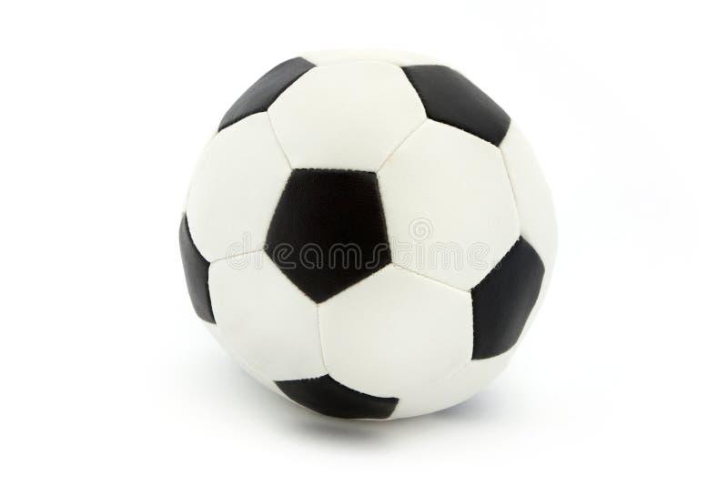 черная классицистическая белизна футбола стоковое изображение rf