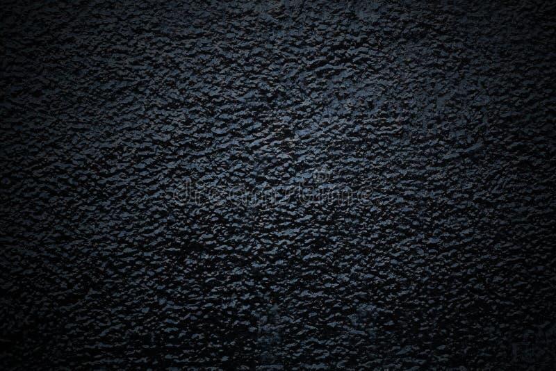Черная конкретная грубая поверхность, предпосылка, текстура стоковые фотографии rf