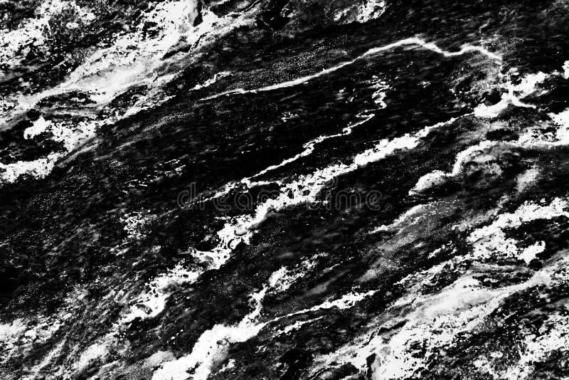 Черная мраморная предпосылка текстуры картины Абстрактный естественный мрамор стоковые изображения