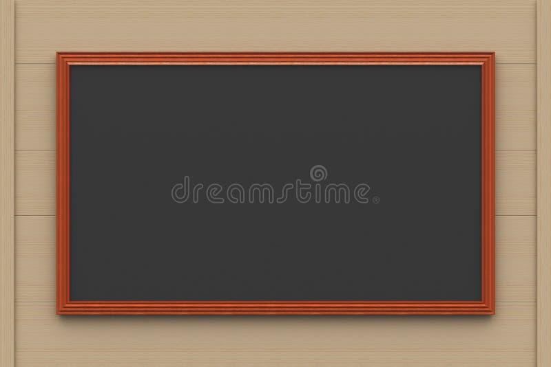 Черная доска мелка бесплатная иллюстрация