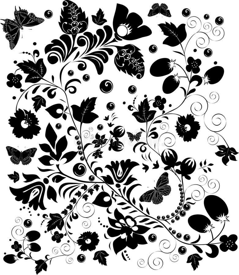 черная осложненная конструкция бесплатная иллюстрация