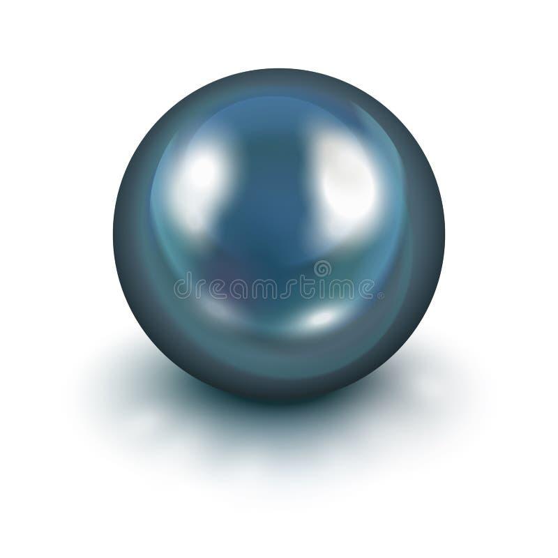 Черная перла бесплатная иллюстрация