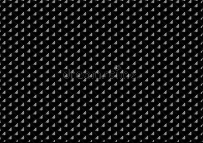 Черная покрашенная картина проверила обои иллюстрация вектора