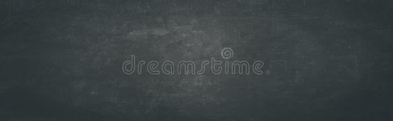 Черная предпосылка доск доски или мела пустая стоковая фотография rf