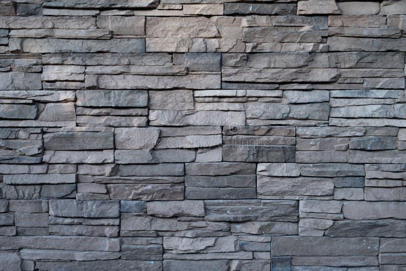 Черная предпосылка камня стены стоковая фотография rf