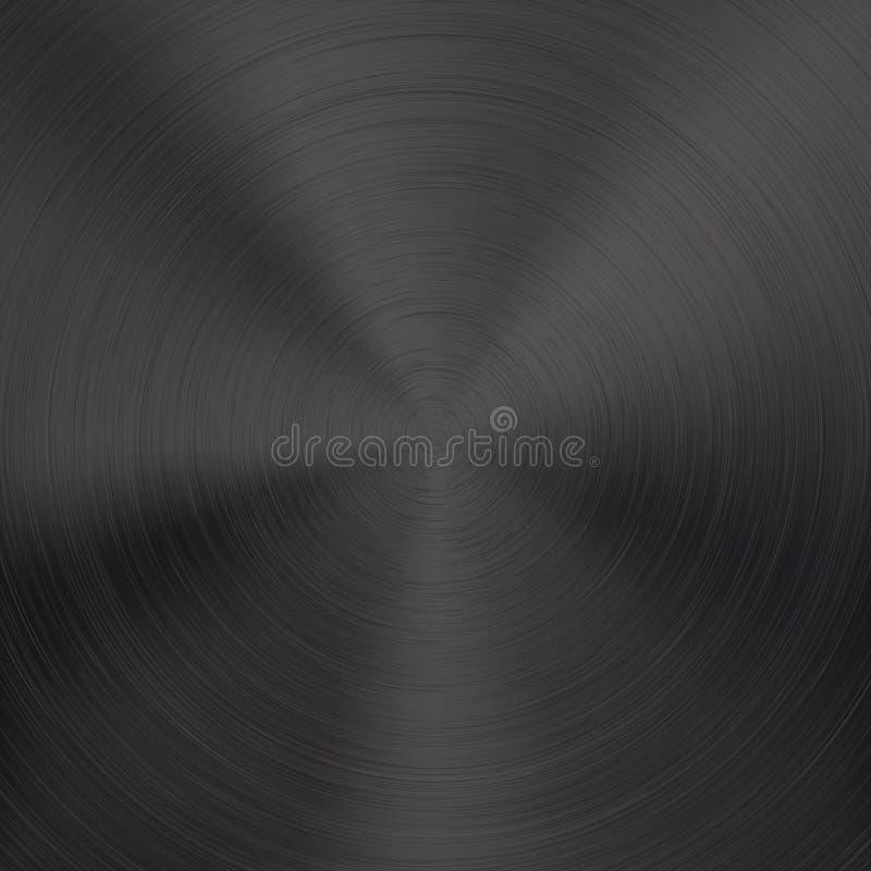 Предпосылка с черной текстурой металла стоковое изображение rf