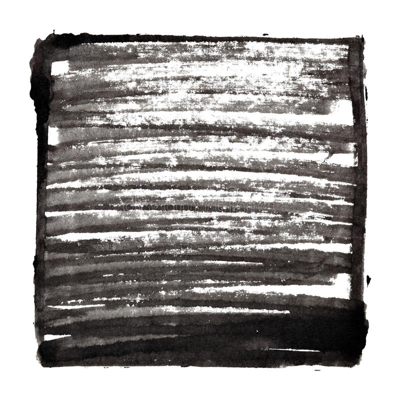 Черная предпосылка с рамкой и shading иллюстрация вектора