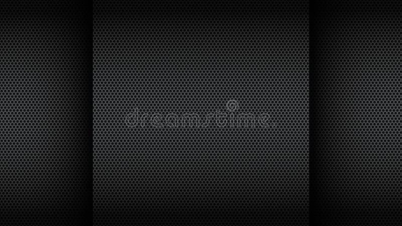 Черная предпосылка иллюстрация вектора