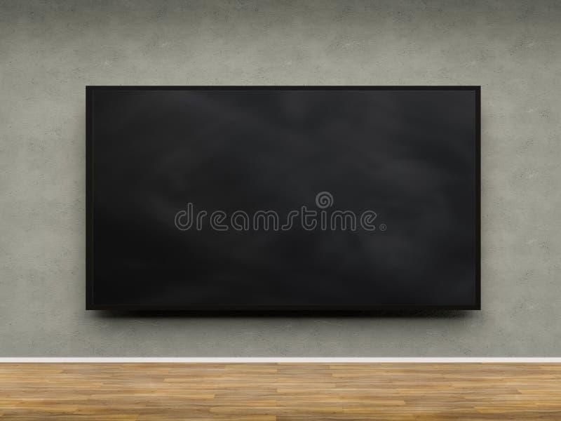 Черная пустая рамка бесплатная иллюстрация