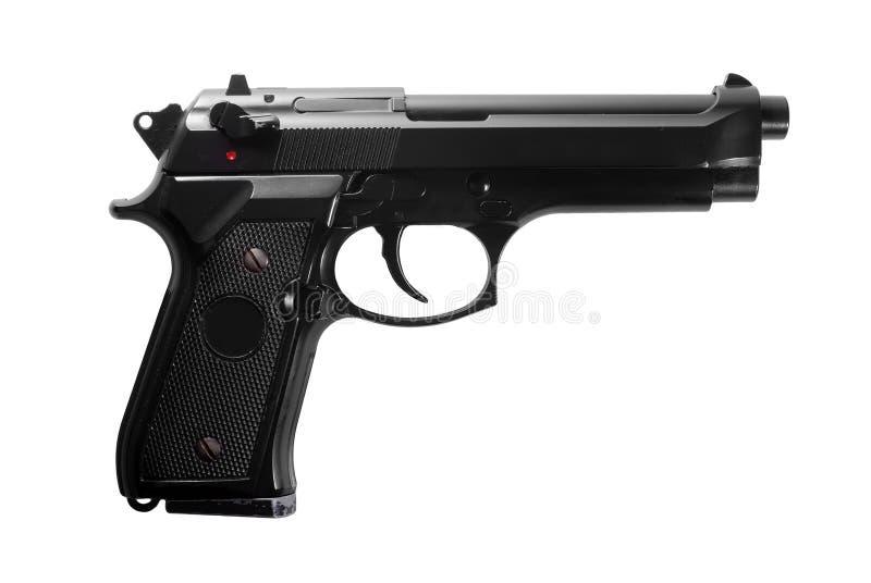 черная пушка стоковая фотография