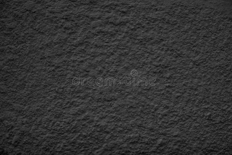 Черная пылевоздушная Scratchy текстурированная стена - старое винтажное backgro grunge стоковое изображение rf