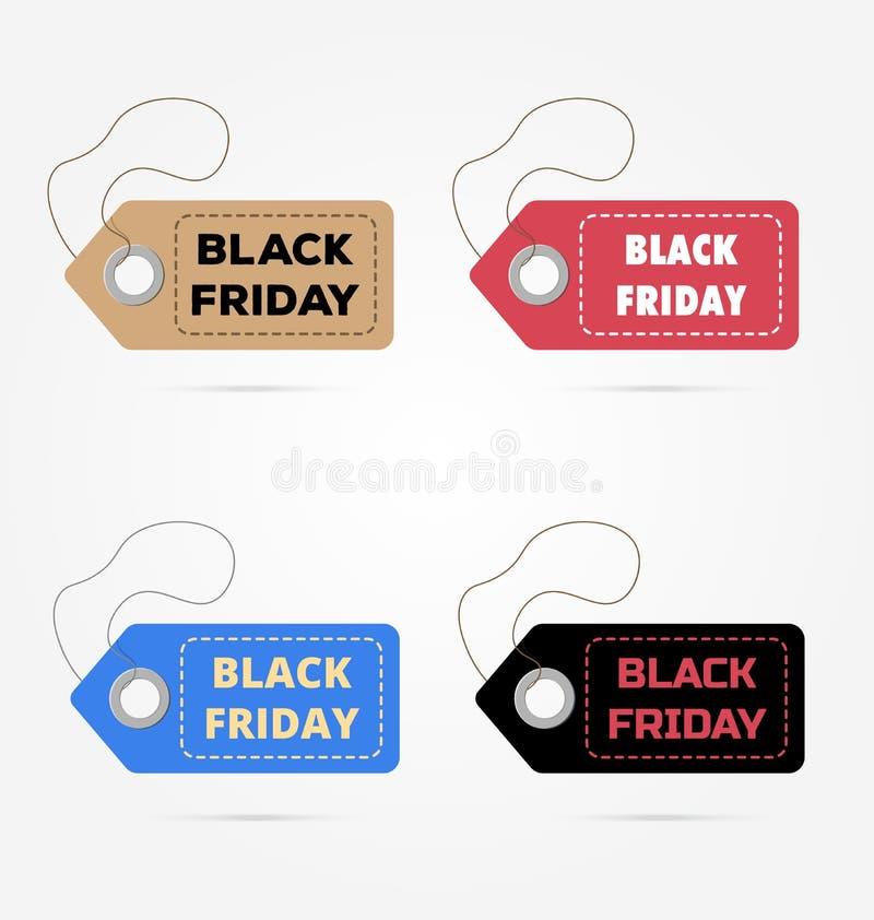 Черная пятница, продажи также вектор иллюстрации притяжки corel Большая продажа, скидка бесплатная иллюстрация