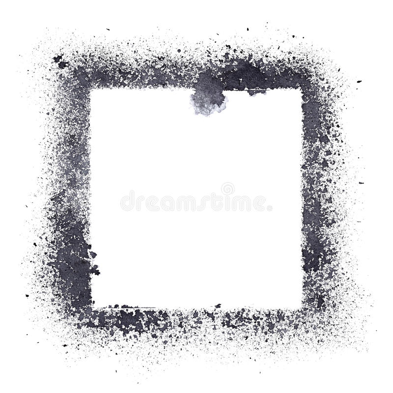 Черная рамка восковки бесплатная иллюстрация
