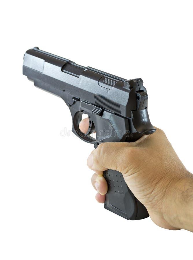 черная рука пушки стоковые фотографии rf