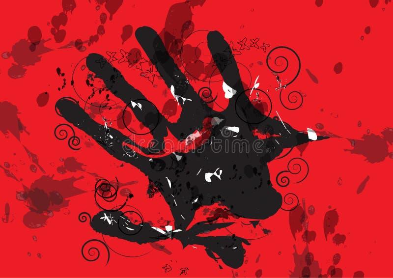 черная рука бесплатная иллюстрация