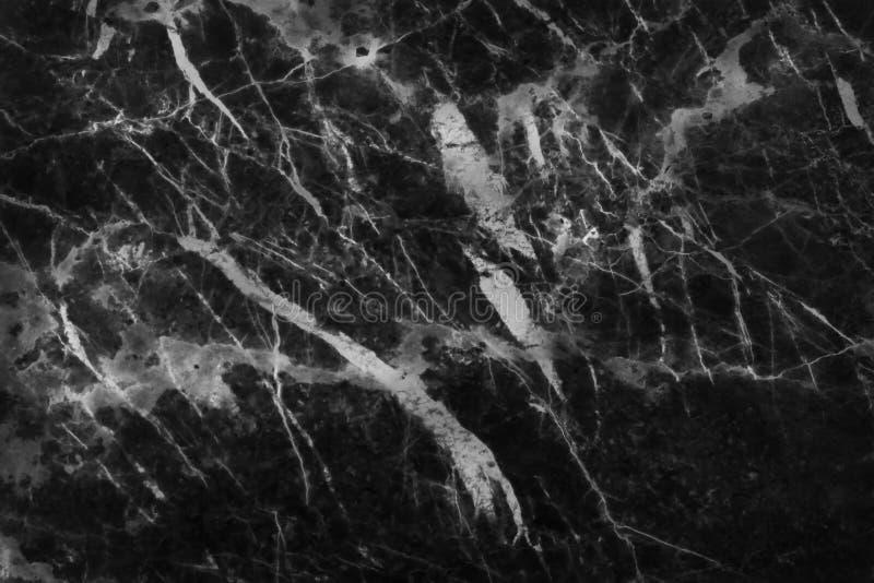 Черная серая мраморная текстура в естественной картине с высоким разрешением для предпосылки Пол плиток каменный стоковое фото rf