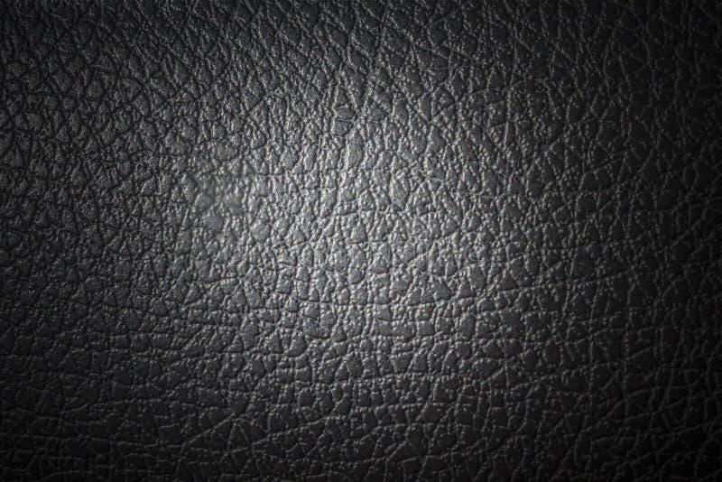 Черная синтетическая кожа стоковые фото