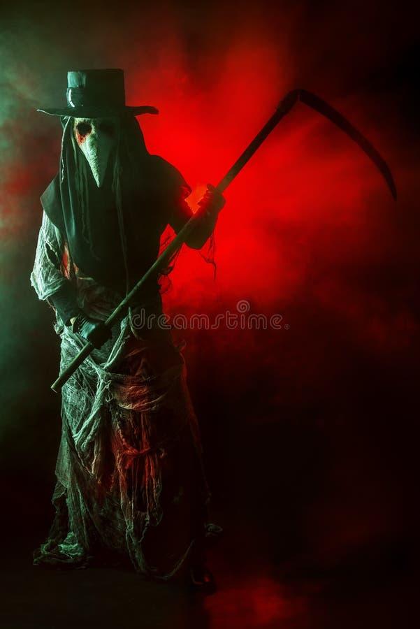 черная смерть стоковая фотография