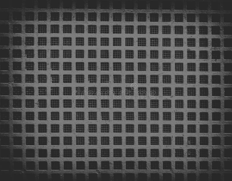 черная текстура металла решетки стоковые фото