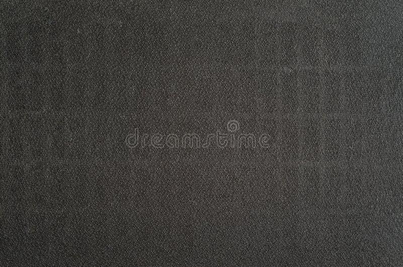 Черная текстура ткани громкоговорителя стоковое изображение