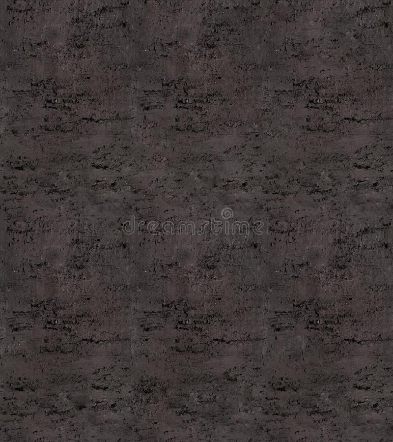 Черная темная конкретная безшовная текстура стоковые изображения