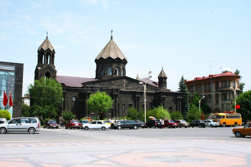 Черная церковь стоковое изображение