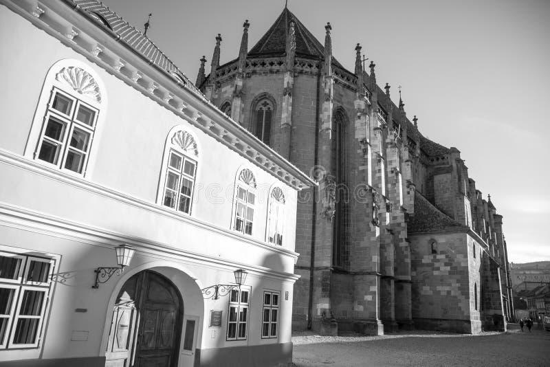Черная церковь Biserica Neagra brasov Kronstadt стоковое фото