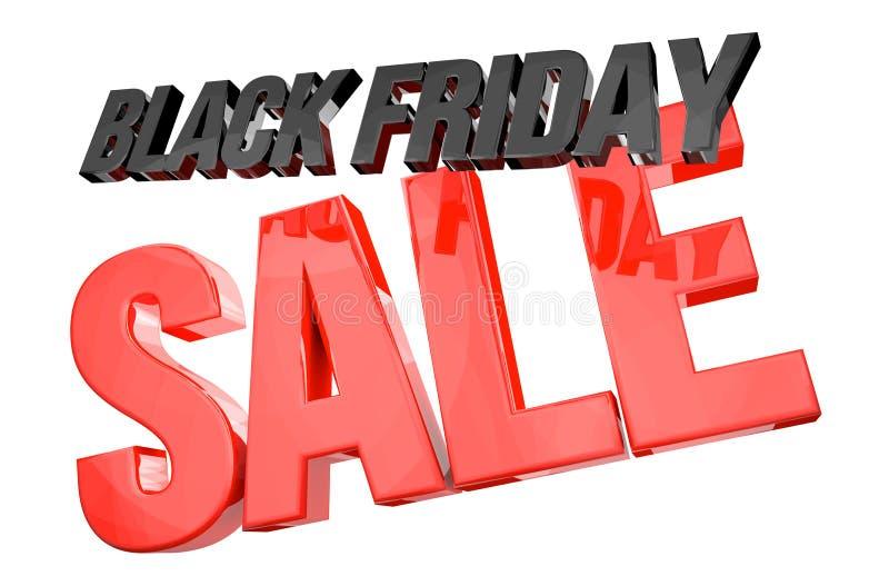 Download Черная чернота 3d пятницы красная представляет Иллюстрация штока - иллюстрации насчитывающей consumerism, изолировано: 81802613